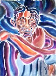 Anciana Maya. Ramon Larrauri
