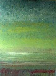 Regard de l'artiste au dela du rideau de la lumière.