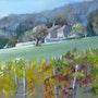 Les vignes du Clos des Capucins à Meylan. Daniele Trigalet
