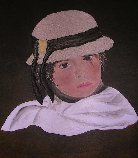 La petite.  Ghislaine Phelut