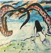 Lohengrin - Peinture aux émaux.