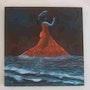 Flamenco nocturno sobre las olas del Mediterráneo. Irady