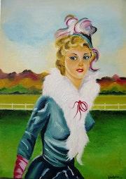 La dame d'Auteuil.