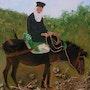 A priest on the stony path. Ghislaine Phelut