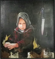 Children and knife.