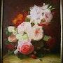 Floral Bouquet der Drohne. Peint La Vie