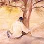 Auprès de mon arbre, je vivais heureux. Ghislaine Phelut