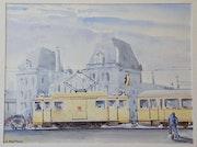 En tram au palais. Stéphan Fraiteur