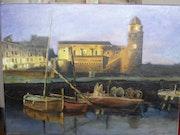 Le port de Collioure dans les P. O. Roger Garcia
