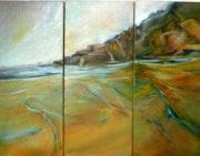 Marée basse à Plouescat. Francoise Losfeld