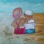 Les marées d'oléron. Artiste Patricia Mazzeo