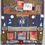 Panneau mural en Art-Textile. Jomaray