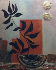 Vase zen. La Palette d'Alex