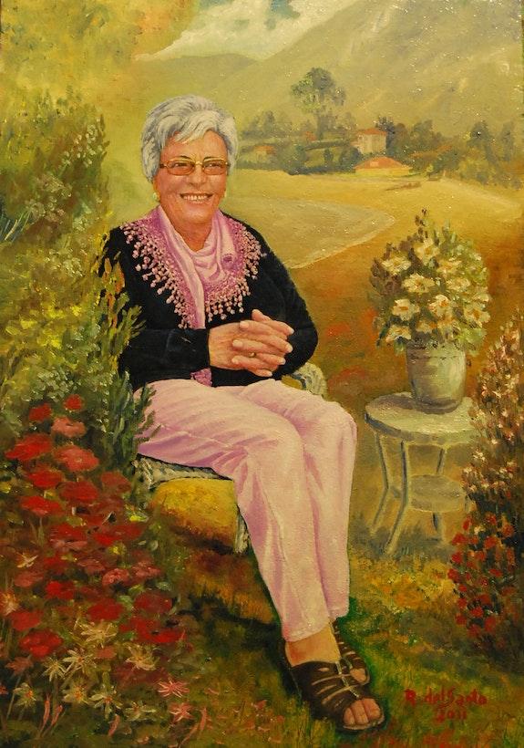 Retrato Sra Perez. R. Del Santo Rafael Del Santo