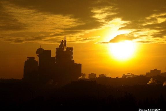 The Sun Rising-2.  C. Deniz Seyran