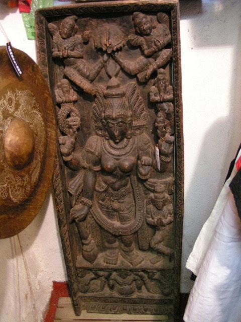 Durga, déesse protectrice contre toutes les négativités. Inconnu Zone Libre Orient Shop