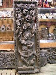 Ganga, déesse du fleuve Gange, fille du dieu Shiva. Zone Libre Orient Shop