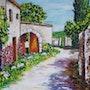 Petit village de provence. Christian Thiefaine