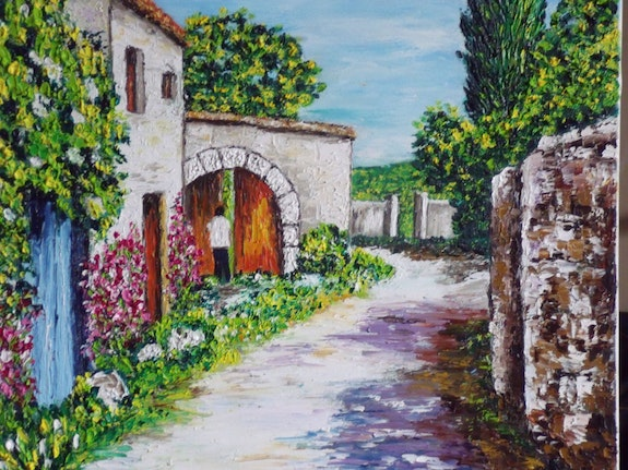 Small village in Provence. Christian Thiefaine Christian Thiefaine