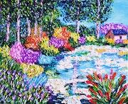 El estanque.