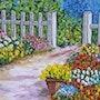 Jardin en fleures. Christian Thiefaine