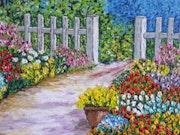 Garden flowers. Christian Thiefaine