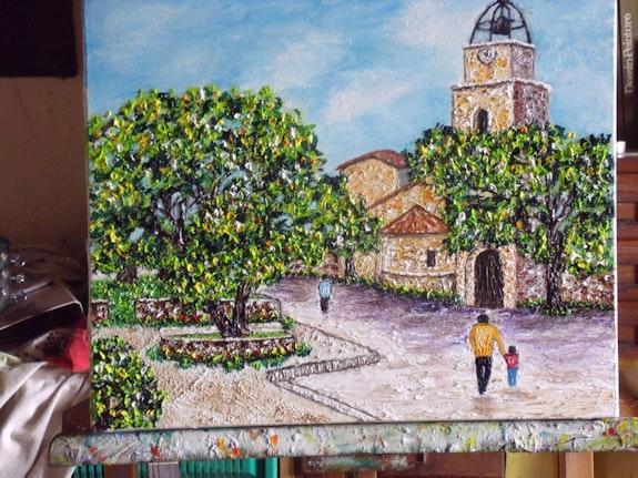 Village square. Christian Thiefaine Christian Thiefaine