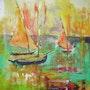 Ballade en bateau. Gilles Cordel