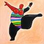 Un pas de danse aérien. V. N.