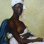 La belle antillaise (hommage à Marie Guillemine Benoist). Diana. K