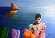 La lessive du Gange.