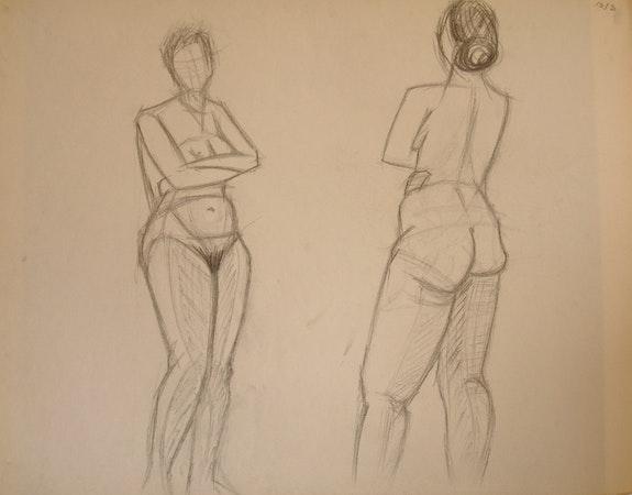 Study of a nude. Éric Le Traou Éric