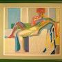 «Grand Nu» d'après F. Kupka. Éric