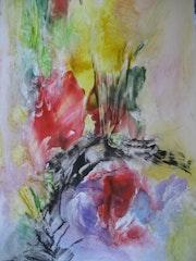 Bouquet d'été. Ingrid Hummel Trontin