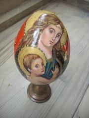 Sainte Vierge et l'Enfant. Alia