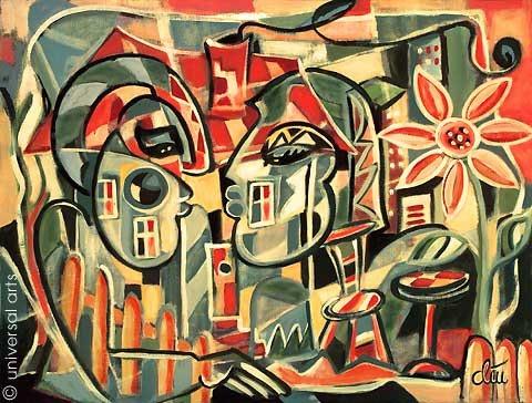Privat - Original Gemälde - Jacqueline_Ditt. Jacqueline Ditt Universal Arts Galerie Studio Gmbh