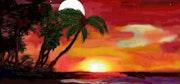 Sol y luna en la playa. Abelarddo Iglesias