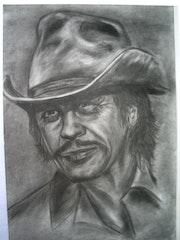 Portrait de Charles Bronson.