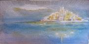 L'île imaginaire, voguant sur la mer….