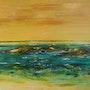 Quand la mer soigne ses couleurs. Sylvane