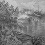 La cabane au bord du lac.. Janeon