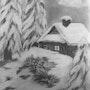 Paysage de neige.. Janeon