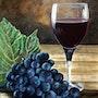 Le verre et la grappe!. Bernard Sannier