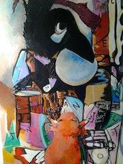 Le corbeau et le renard. Nicolas Bernaoui