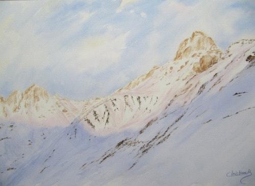 Ombre sur les Pyrénées. Christiane Bricou Christiane Bricou