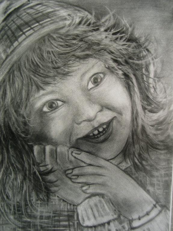 Portrait de petite fille. Janéon Janeon