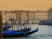 Jeux de couleurs à Venise.