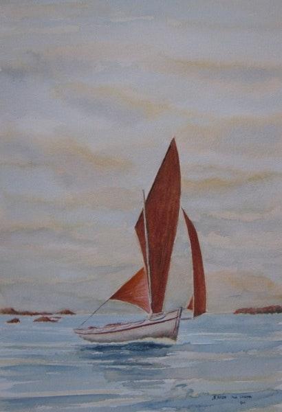 Voile bretonne. Nicolas Husser Pour Colouma Colouma