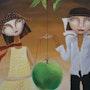 Adán y Eva. Yelena Art Studio