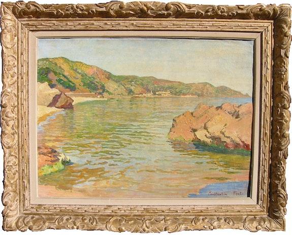 Rivière en sous bois. René His 1877-1960 Artgallery-Web.Com